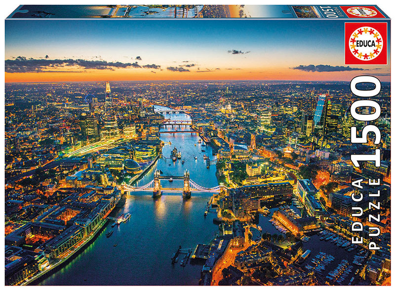 London Aerial View Skyline / Cityscape Jigsaw Puzzle