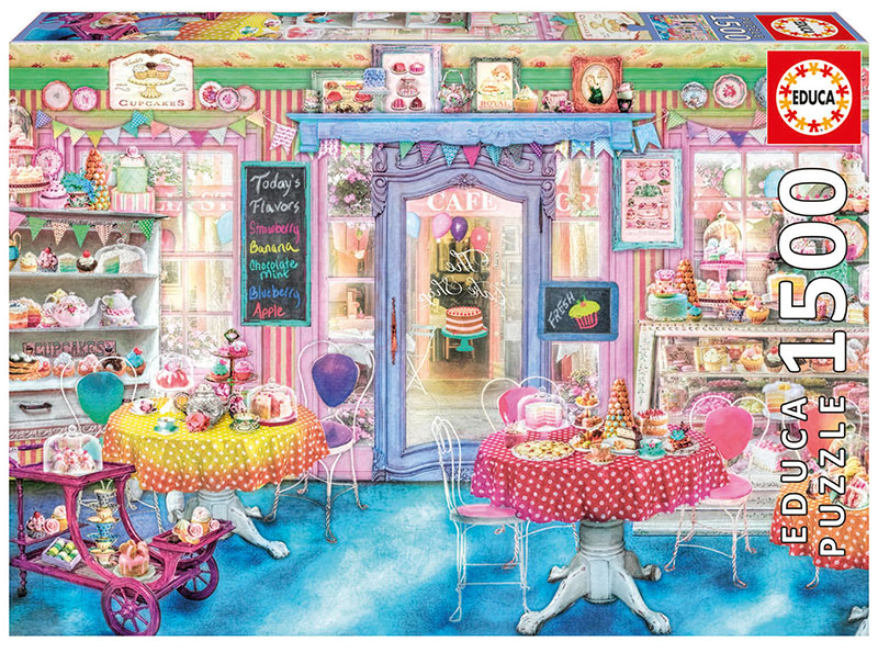 Cake Shop - Scratch and Dent Everyday Objects Jigsaw Puzzle