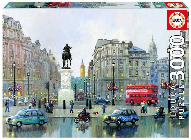 London Charing Cross Landmarks / Monuments Jigsaw Puzzle