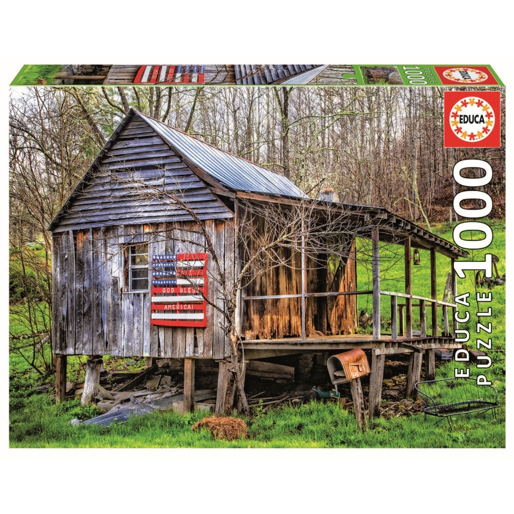 Made In The USA United States Jigsaw Puzzle