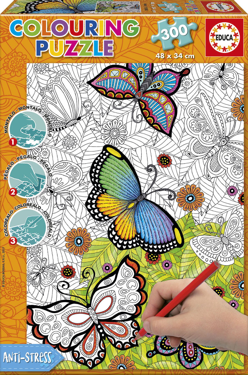 All Good Things Are Wild And Free Butterflies and Insects Jigsaw Puzzle