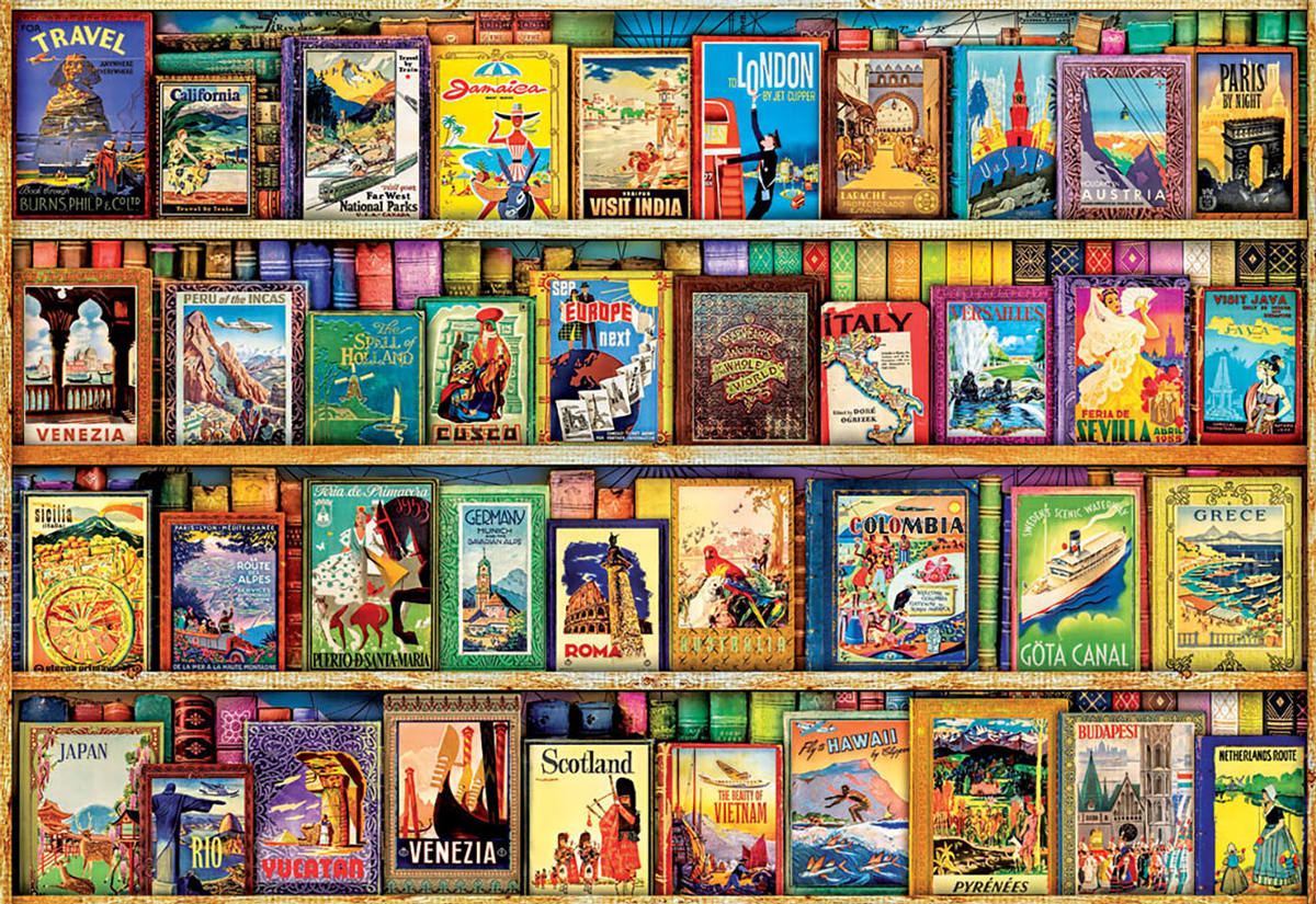 World Travel Guides Travel Jigsaw Puzzle