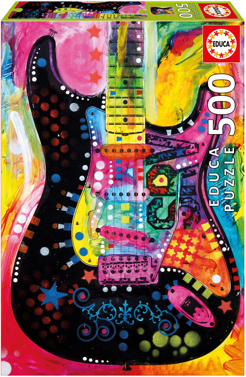 Lenny Strat Music Jigsaw Puzzle