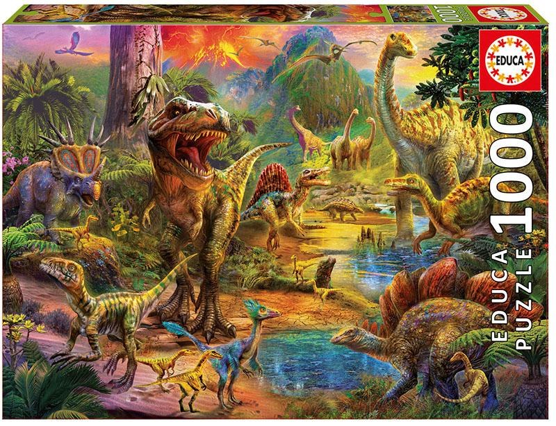 Land of Dinosaurs Dinosaurs Jigsaw Puzzle