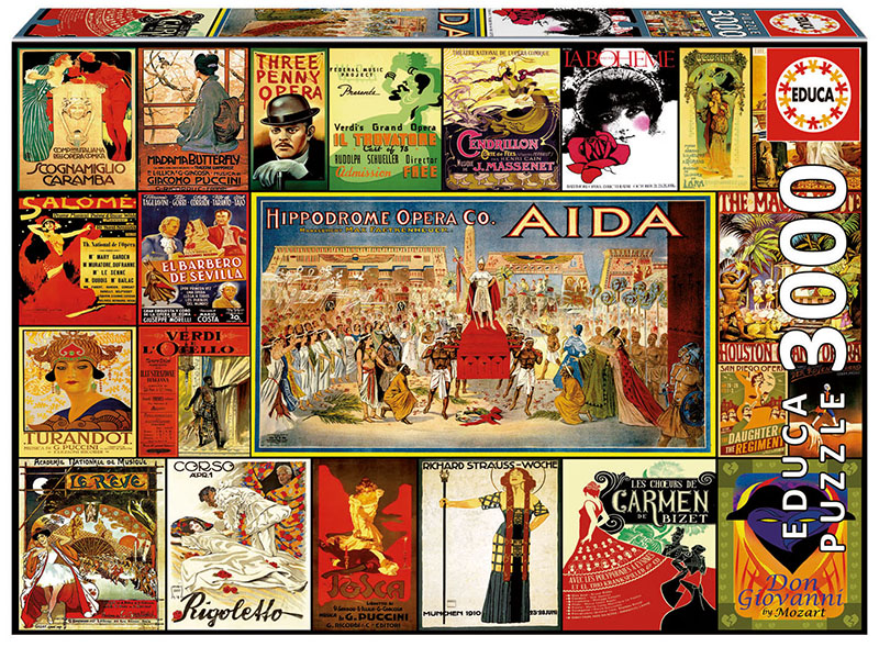 Collage of Operas Collage Jigsaw Puzzle
