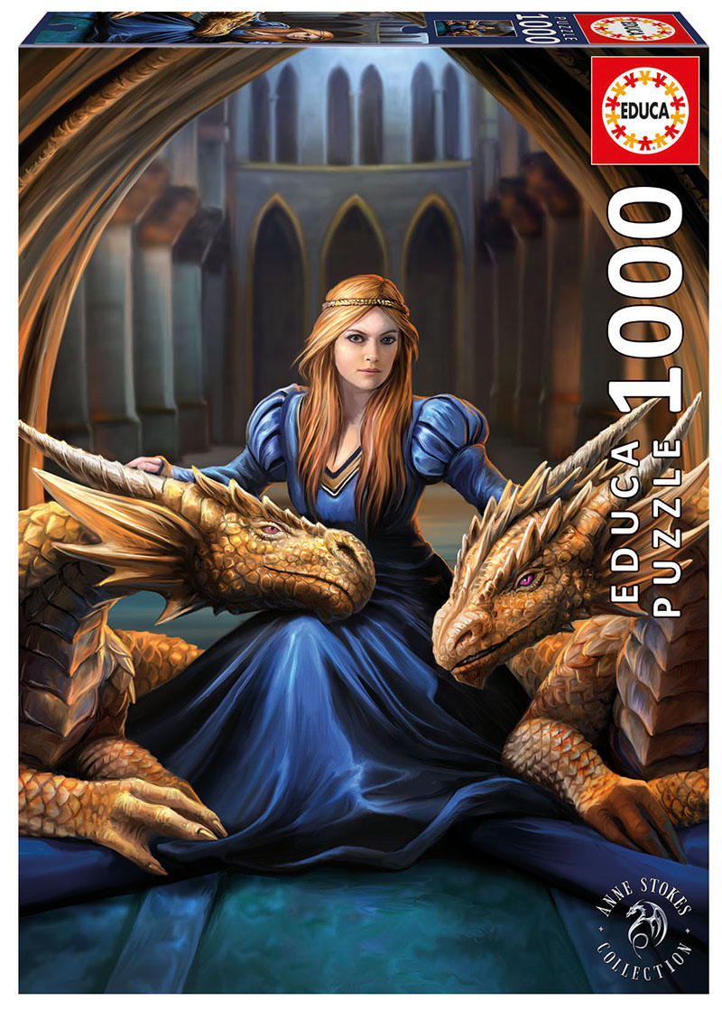 Fierce Loyalty Fantasy Jigsaw Puzzle