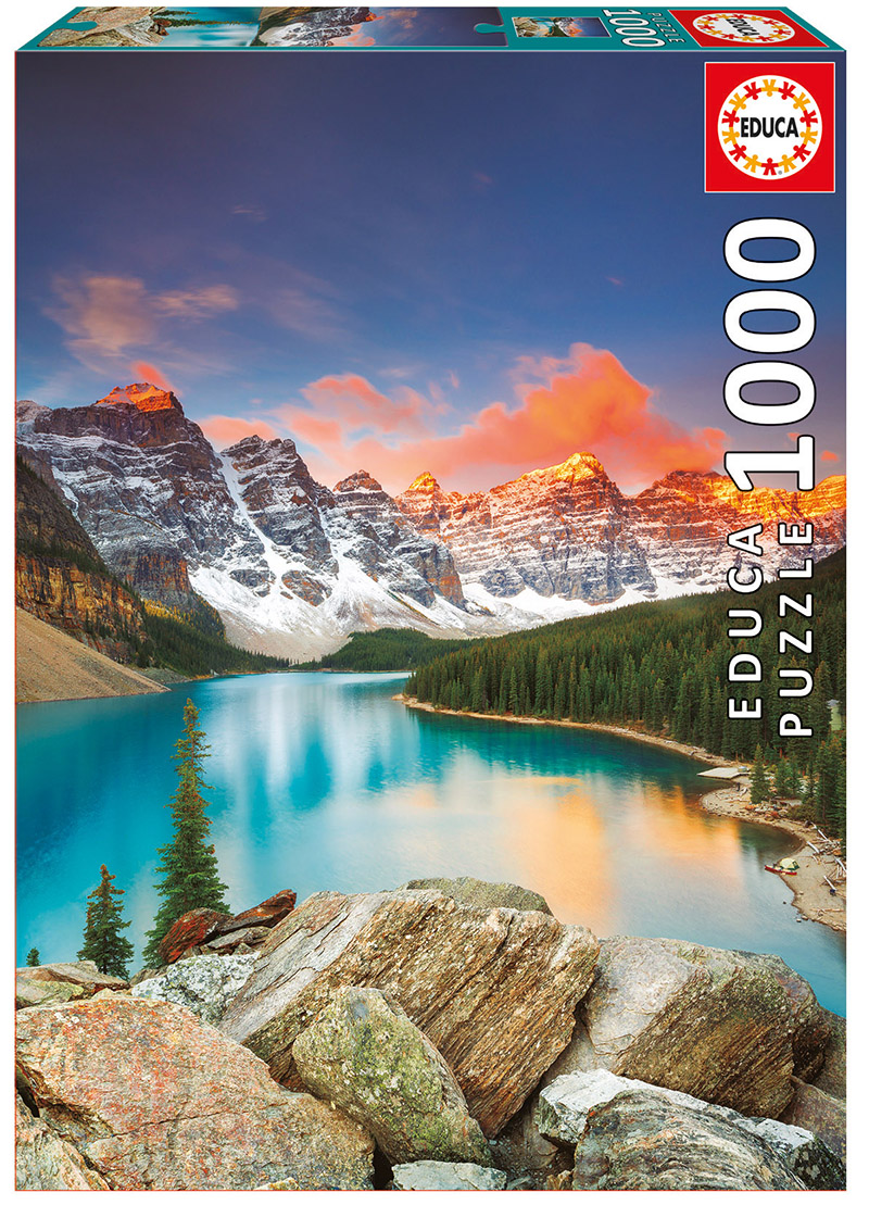 Moraine Lake, Banff Landscape Jigsaw Puzzle