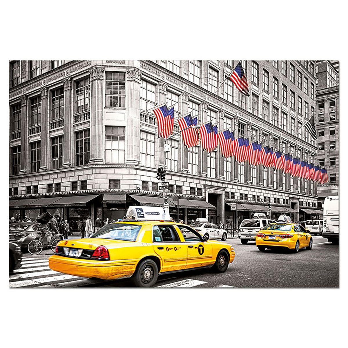 Fifth Avenue NY New York Jigsaw Puzzle
