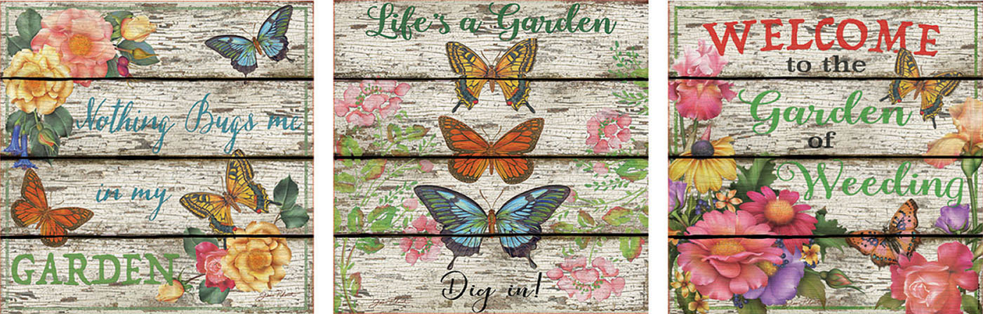 Country Garden Butterflies and Insects Jigsaw Puzzle