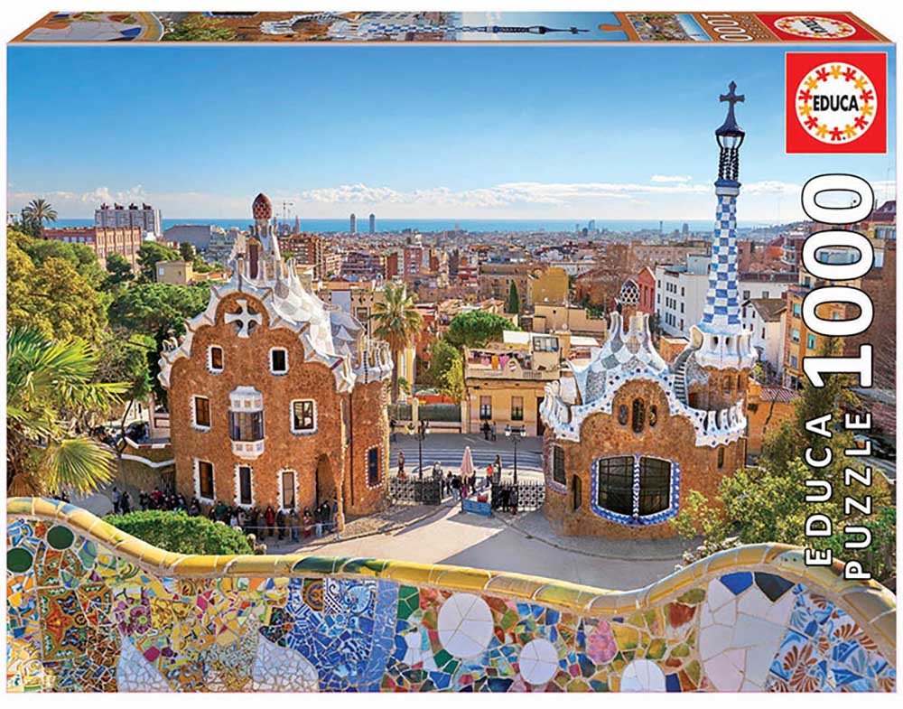 Barcelona View From Park Guell Photography Jigsaw Puzzle