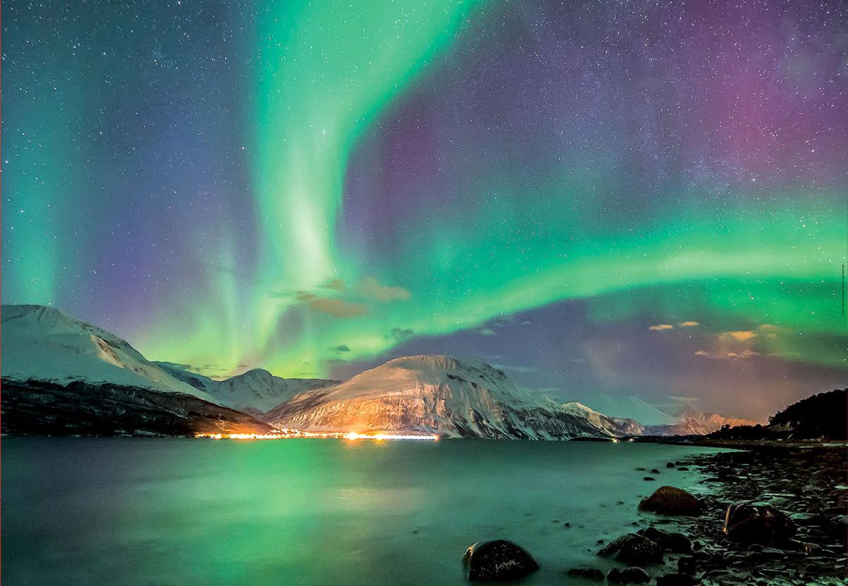 Aurora Borealis Space Jigsaw Puzzle