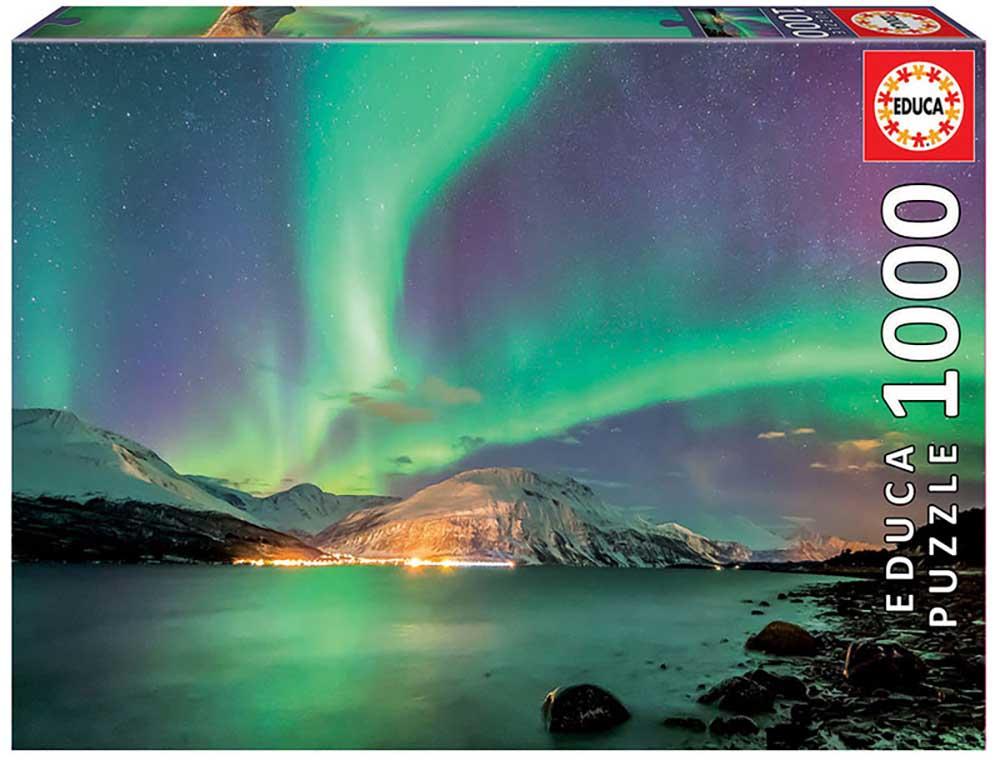 Aurora Borealis Landscape Jigsaw Puzzle