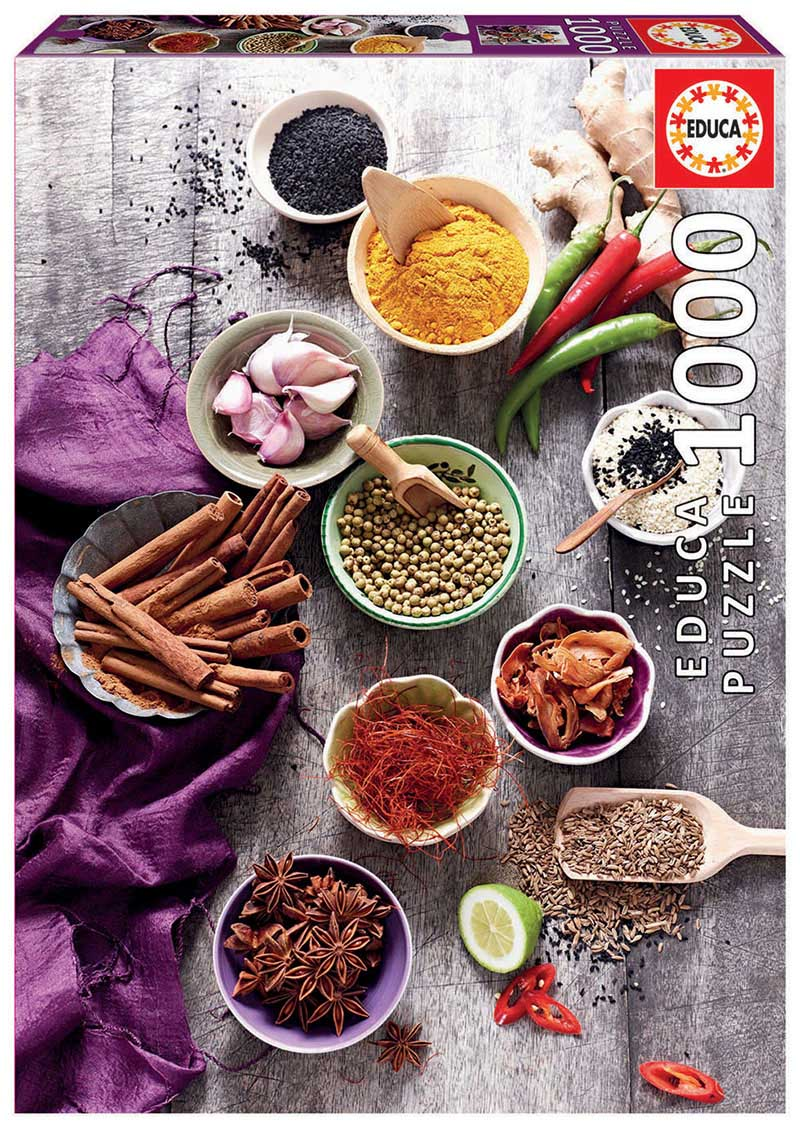 Assorted Spices Food and Drink Jigsaw Puzzle