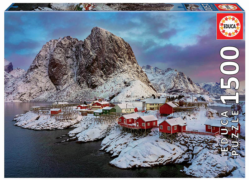 Lofoten Islands, Norway Landscape Jigsaw Puzzle