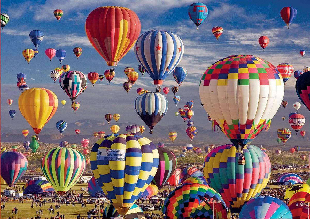 Hot Air Balloons Balloons Jigsaw Puzzle