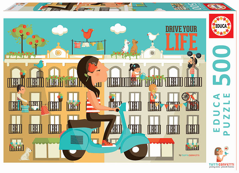 Drive Your Life Travel Jigsaw Puzzle