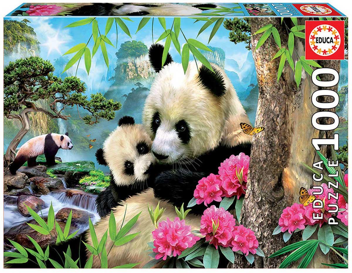 Morning Panda Pandas Jigsaw Puzzle