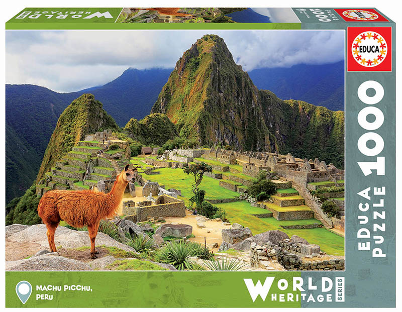 Machu Pichu, Peru Landscape Jigsaw Puzzle