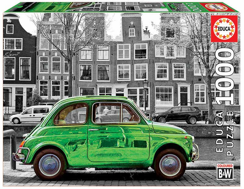 Car In Amsterdam Photography Jigsaw Puzzle