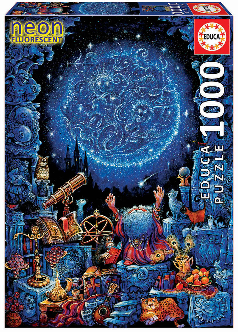 Astrologer 2 Space Jigsaw Puzzle