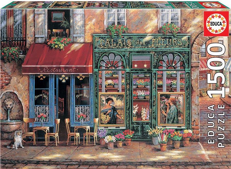 Palais Des Fleurs Jigsaw Puzzle