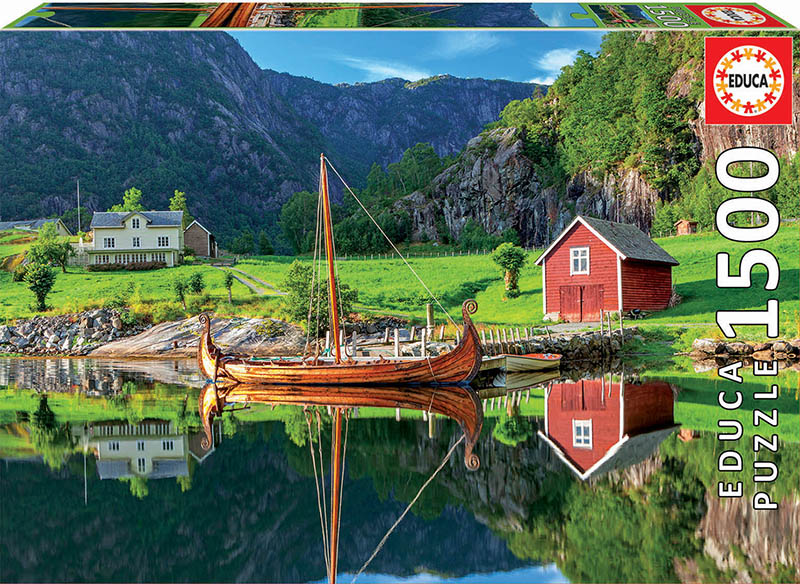 Viking Ship Boats Jigsaw Puzzle
