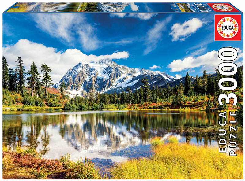 Mount Shuksan, Washington, USA Landmarks / Monuments Jigsaw Puzzle