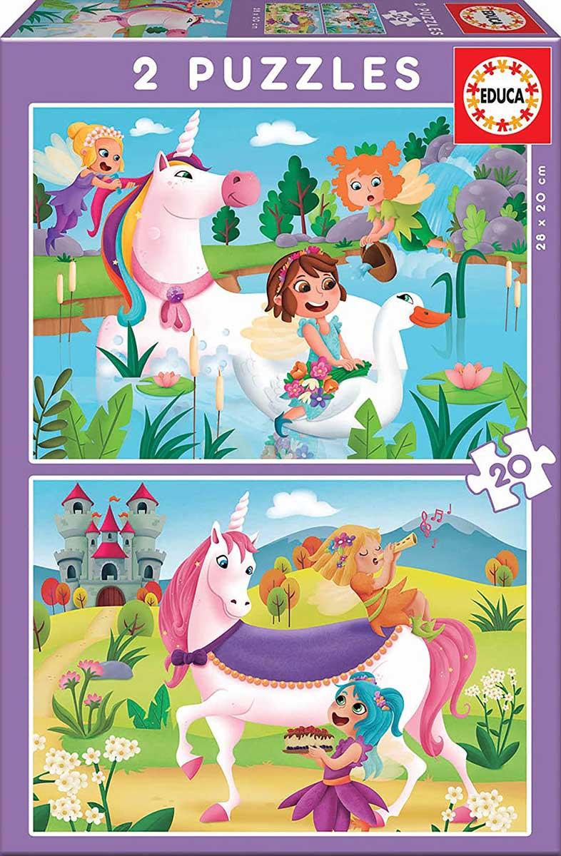Unicorns And Fairies Fantasy Jigsaw Puzzle