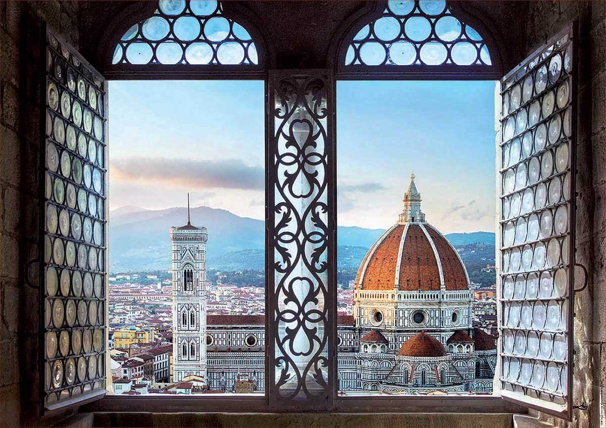 Views Of Florence Travel Jigsaw Puzzle