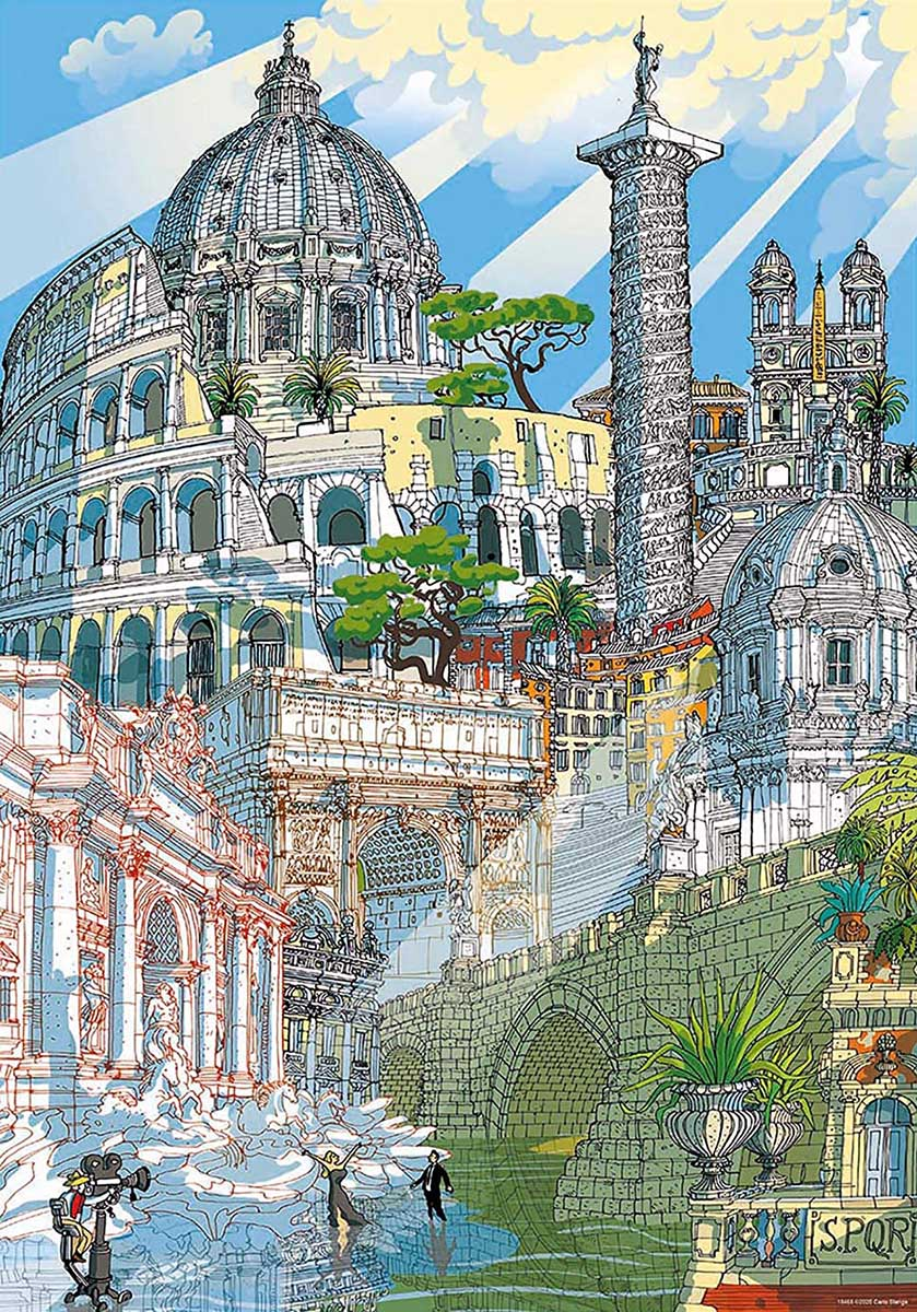 Rome Travel Jigsaw Puzzle