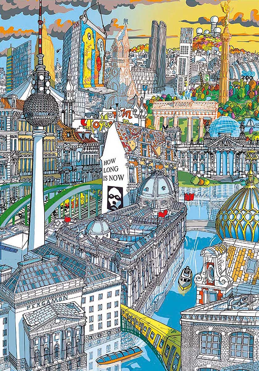 Berlin Travel Jigsaw Puzzle