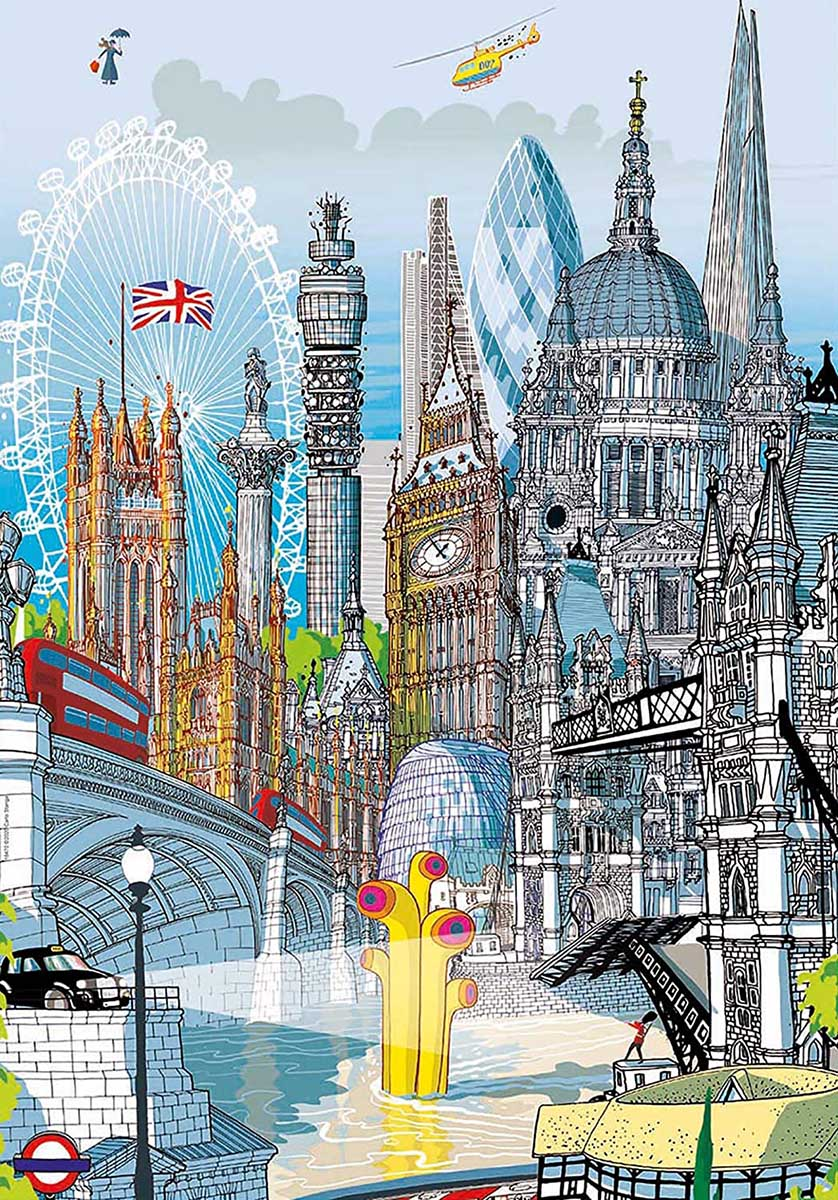 London Travel Jigsaw Puzzle