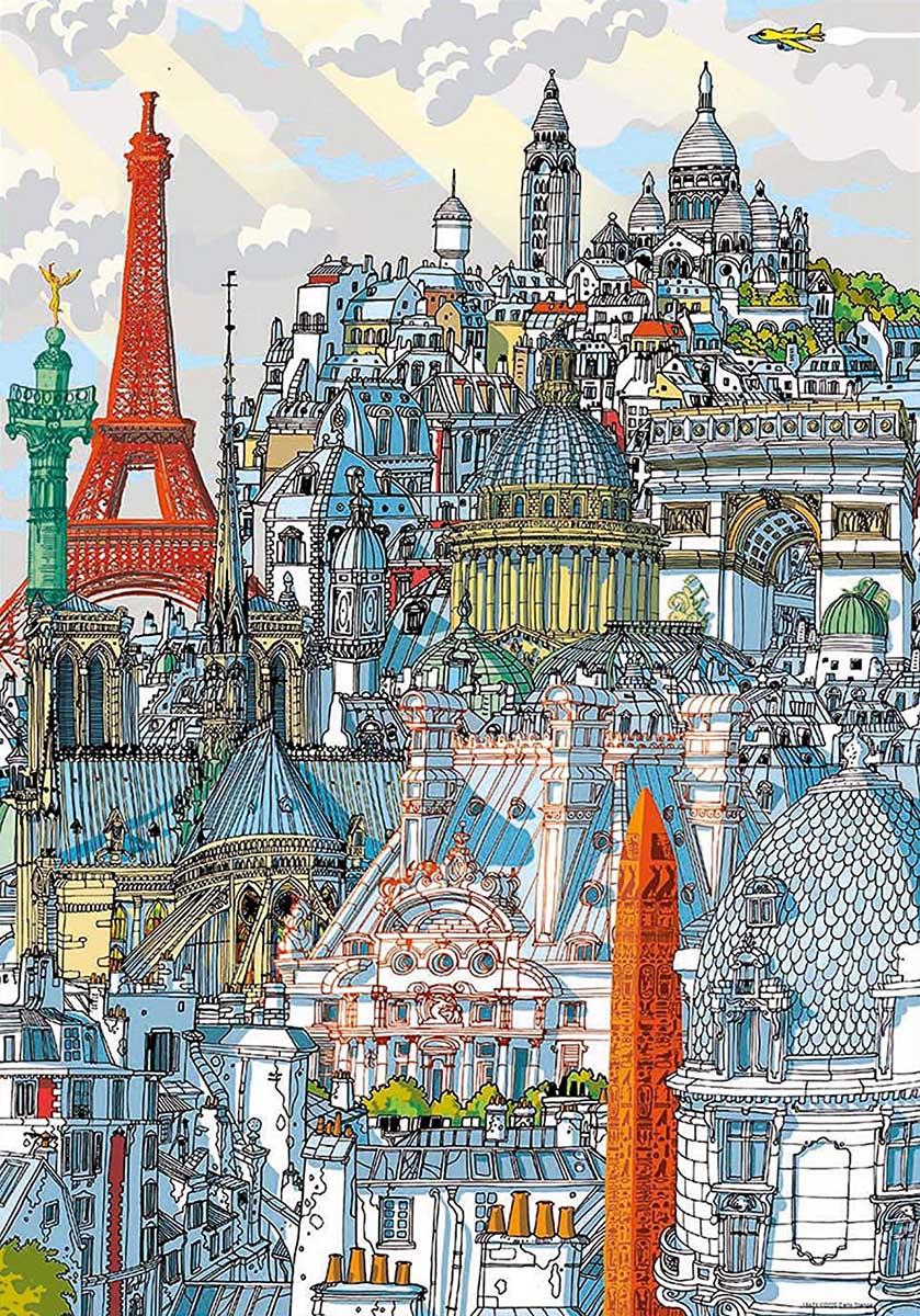 Paris Travel Jigsaw Puzzle