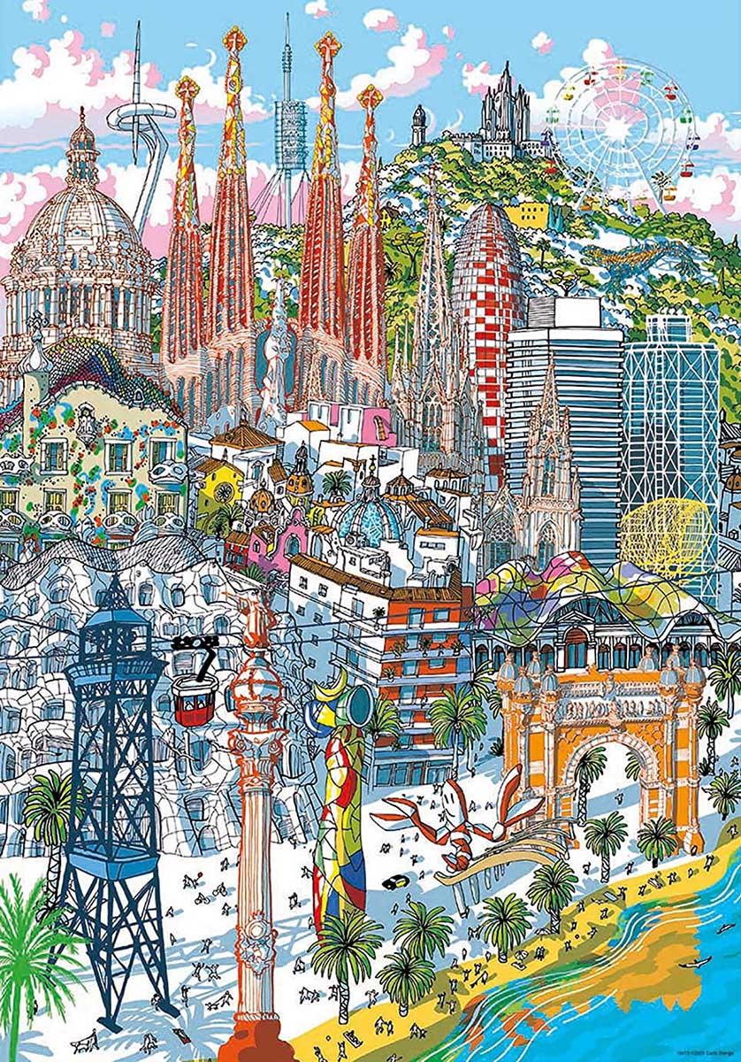 Barcelona Travel Jigsaw Puzzle