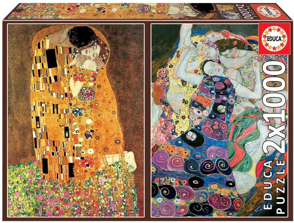 Klimt Fine Art Jigsaw Puzzle