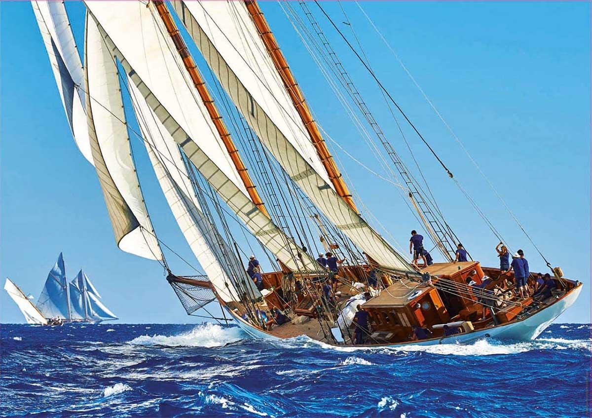 Yacht Boats Jigsaw Puzzle