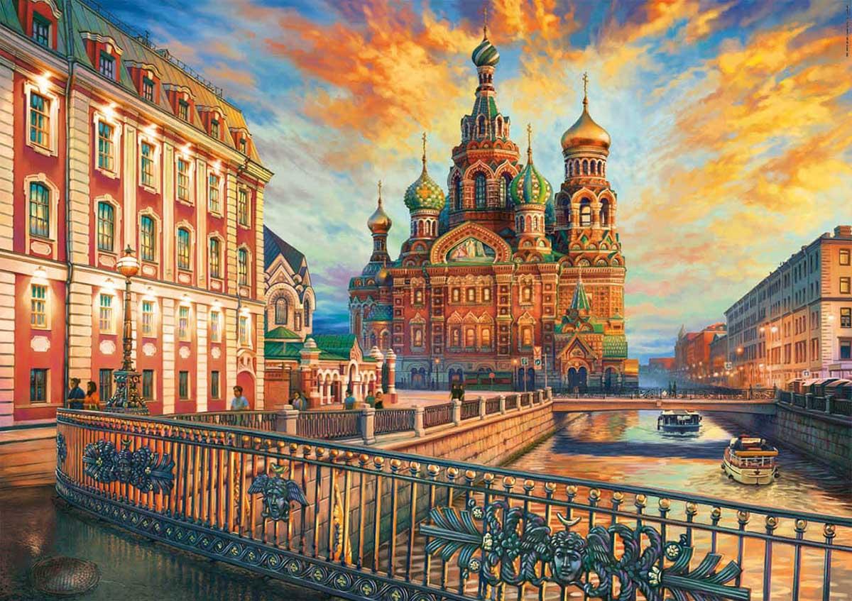Saint Petersburg Travel Jigsaw Puzzle