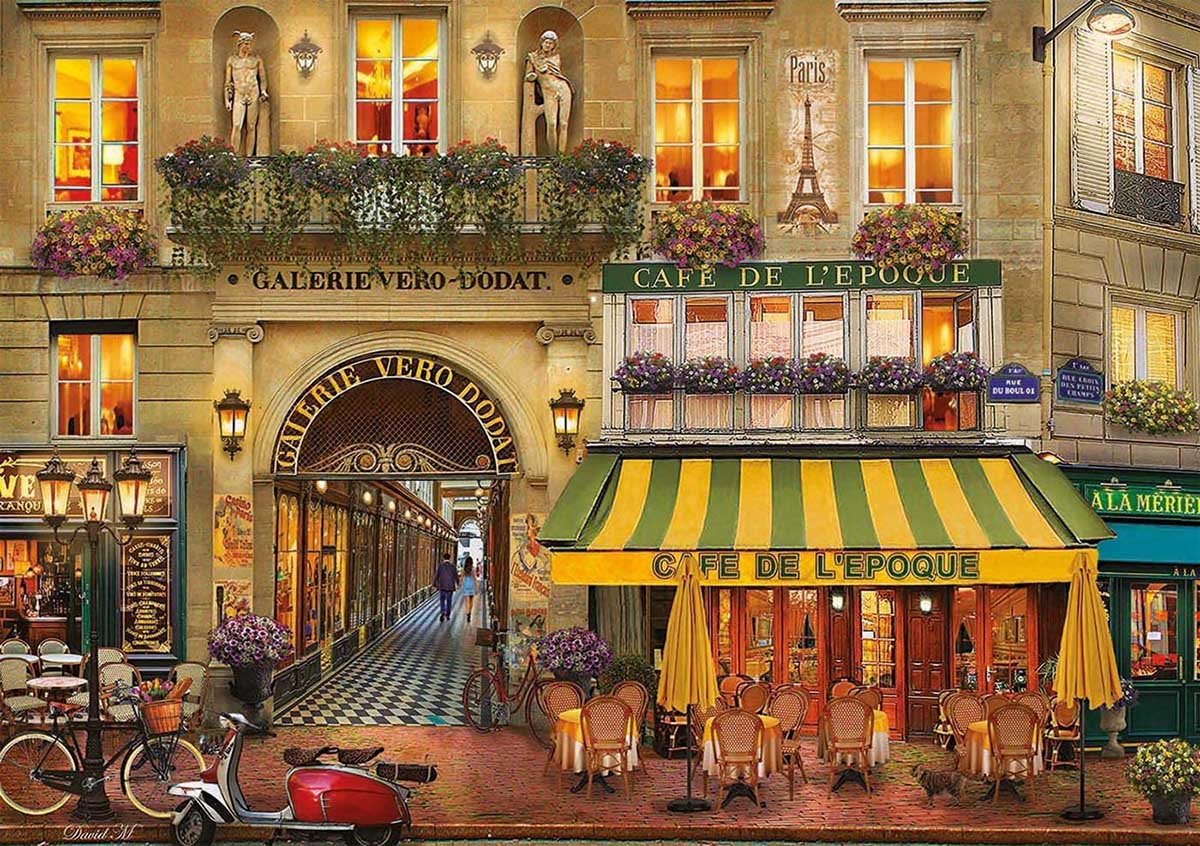 Galerie Paris Street Scene Jigsaw Puzzle