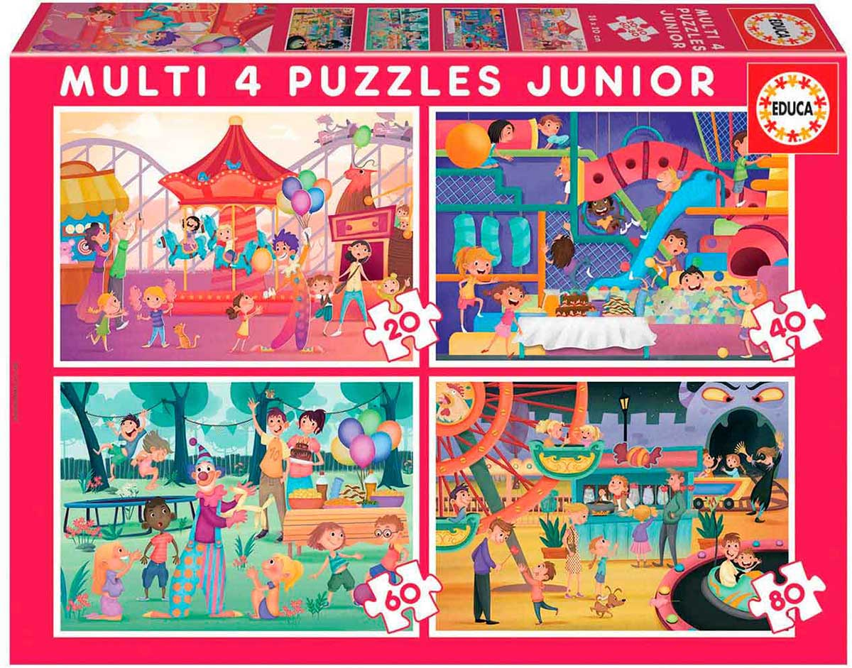 Amusement Park/Party Carnival Jigsaw Puzzle