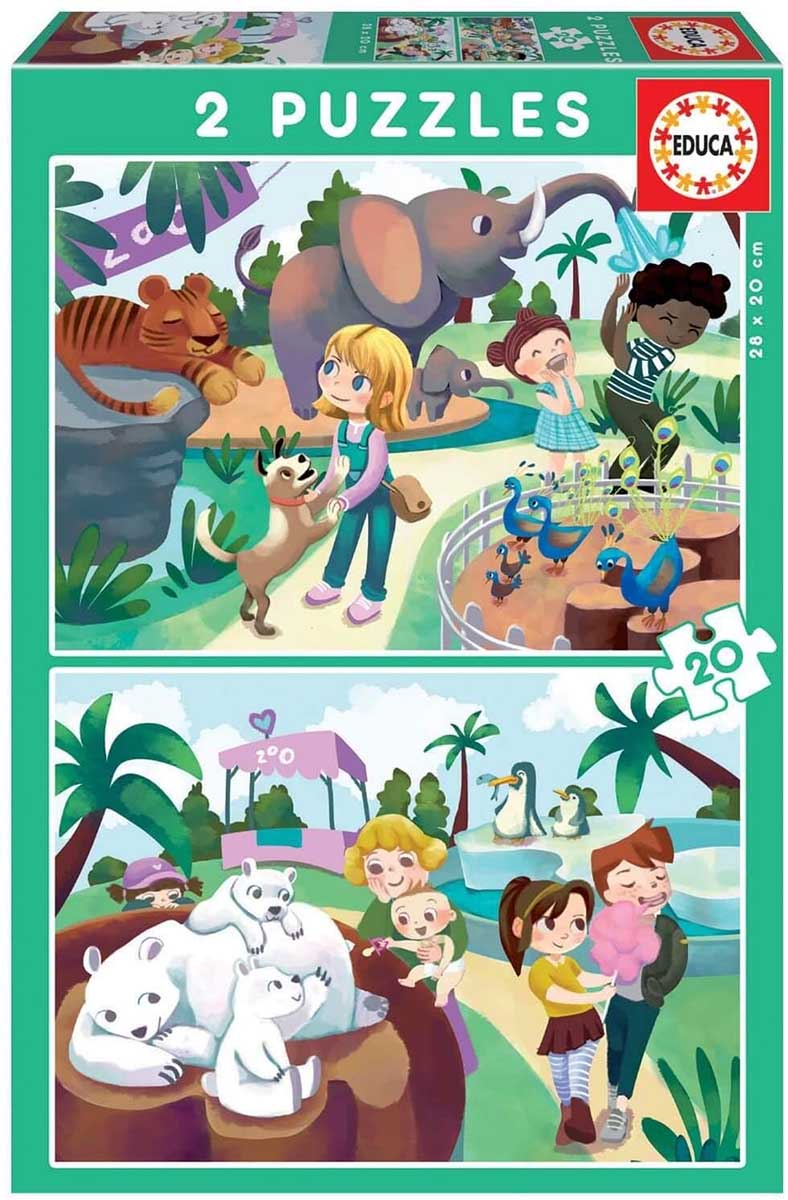 At The Zoo Animals Jigsaw Puzzle