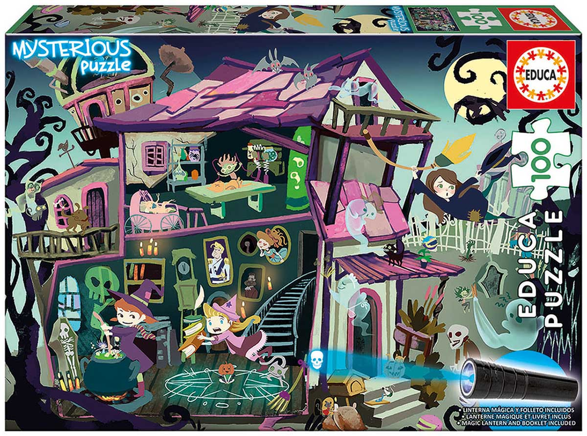 Ghost House Halloween Jigsaw Puzzle