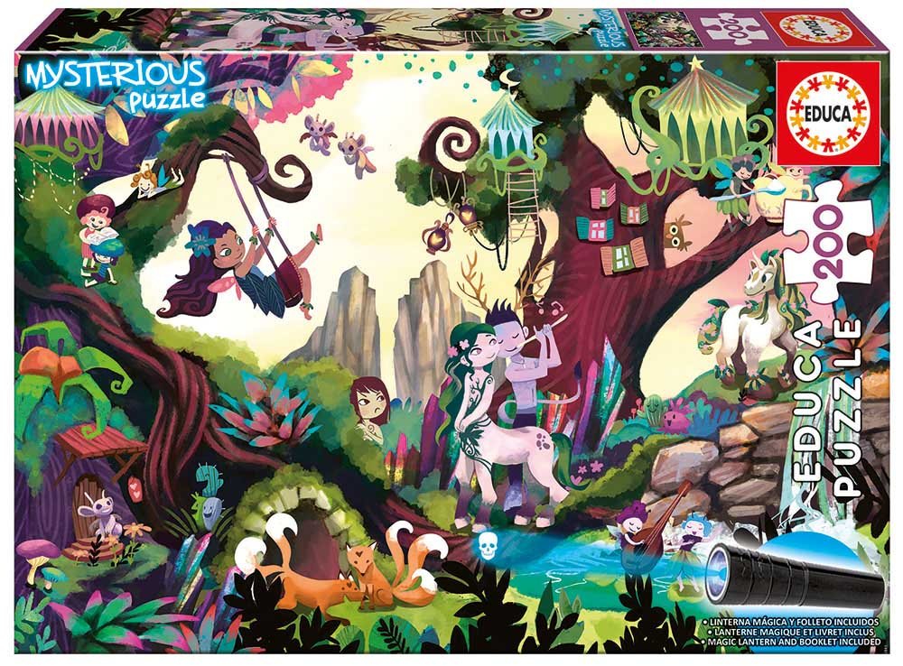 Magic Forest Fantasy Jigsaw Puzzle