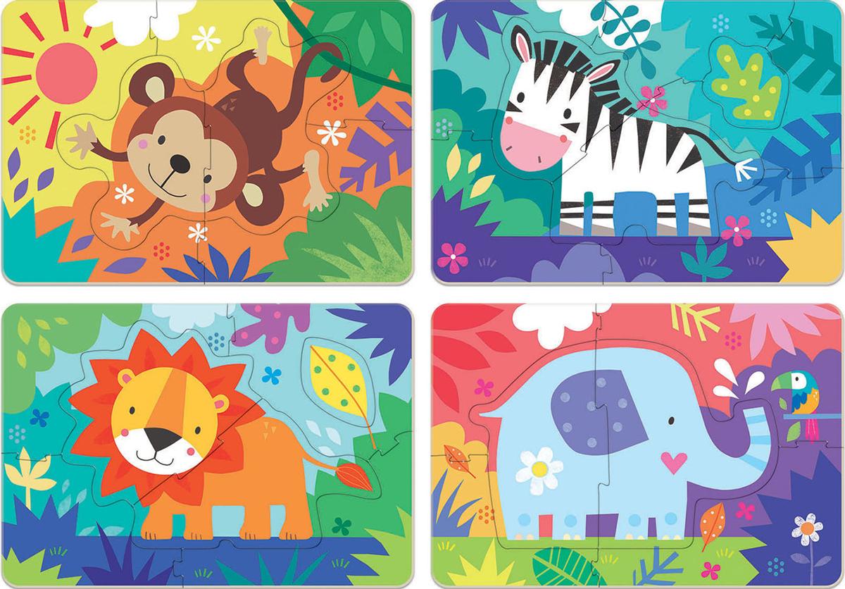 Jungle Animals Jungle Animals Jigsaw Puzzle