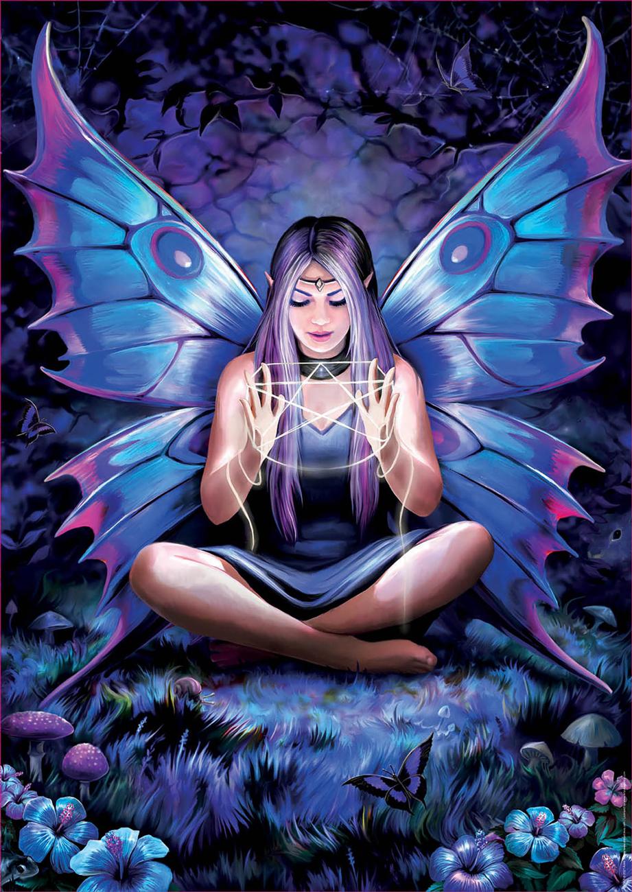 Spell Weaver Fairies Jigsaw Puzzle