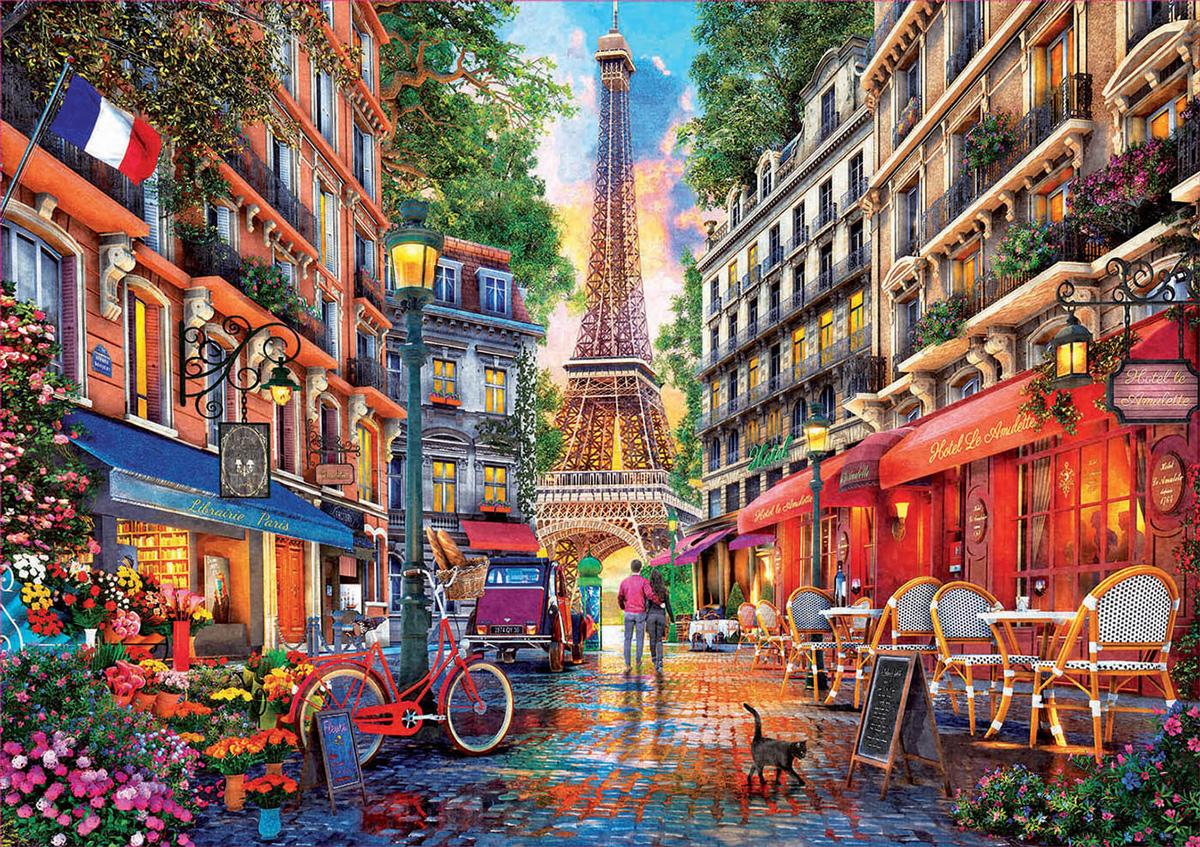 Paris - Scratch and Dent Paris Jigsaw Puzzle
