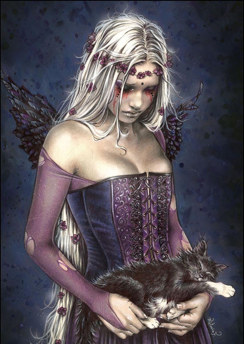 Angel of Death Gothic Jigsaw Puzzle