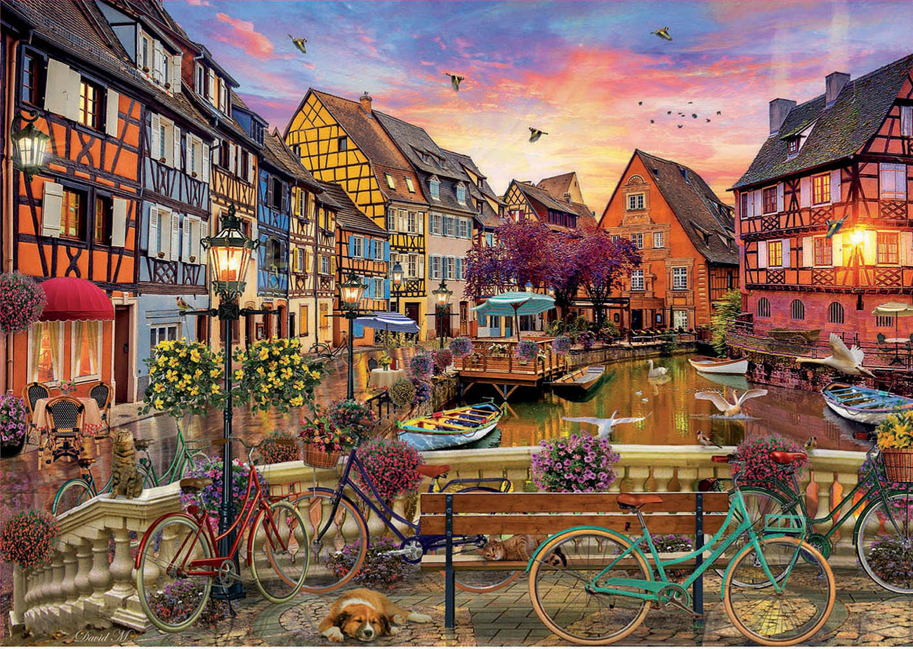 Colmar, France Travel Jigsaw Puzzle