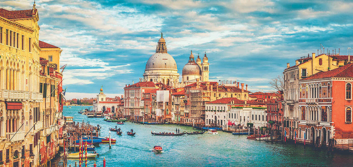 Grand Canal Venice Travel Jigsaw Puzzle
