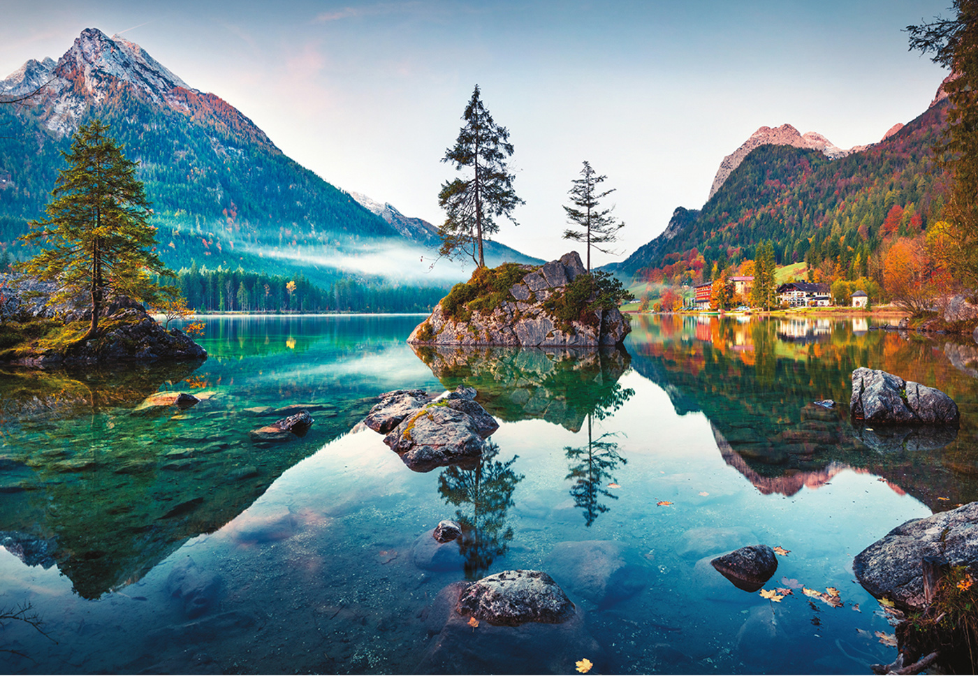 Great Outdoors Mountains Jigsaw Puzzle