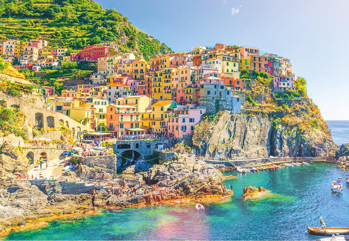 Italy – Cinque Terre Travel Jigsaw Puzzle